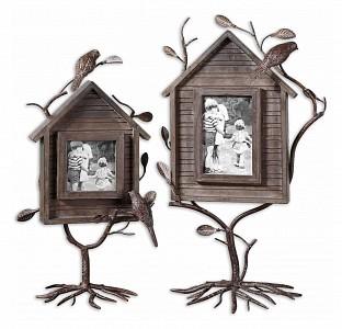 Набор 2 фоторамок настольных Bird House 18528