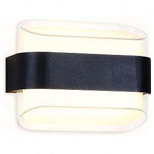 Накладной светильник Wall 11 FW301 SBK черный песок LED 3000К 10W 160*130*75