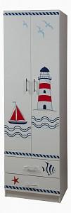 Шкаф платяной Лего Кораблик