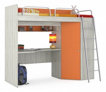 Детская кровать чердак Тетрис MOB_Tetris1_345_orange