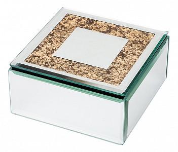 Шкатулка для украшений (12x12x6 см) Luxury 453-114