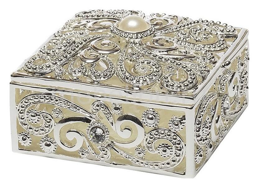 Шкатулка декоративная Garda Decor (7.5х7.5х4.5 см) Винтаж JB1091 garda decor тумба комод relief