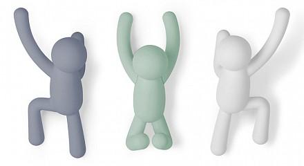 Набор из 3 крючков декоративных Buddy 318165-370