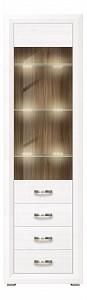 Шкаф-витрина Мальта с подсветкой REG1W3S