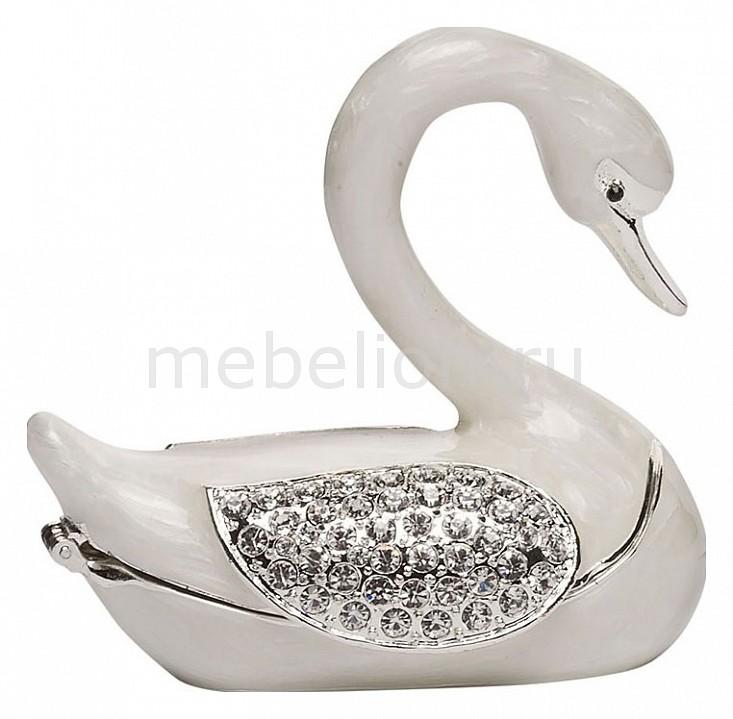 Шкатулка декоративная Garda Decor (8х7х4.5 см) Лебедь LS0728