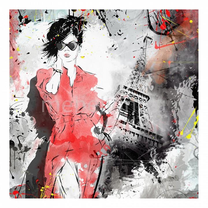 Панно Ekoramka (50х50 см) Fashion girl 141550097 fashion girl pattern kerosene oil lighter bronze