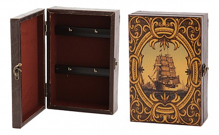 Ключница (17x7x25 см) Парусник 184-064