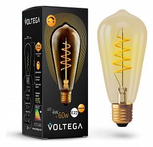 Лампа светодиодная [LED] Voltega E27 4W 2000K