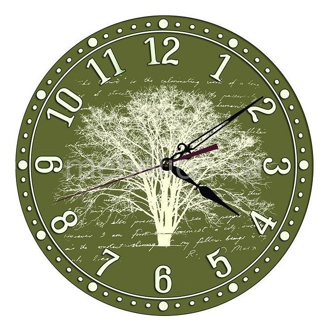 Настенные часы Акита (30 см) Письмо C49 цена и фото