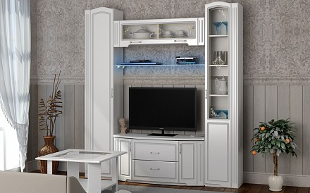 Стенка под ТВ для гостиной Виктория IZH_Viktorya_system_2