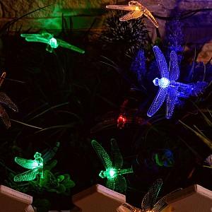 Гирлянда на солнечных батареях [4 м] USL-S-123/PT4000 Dragonflies