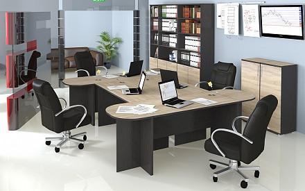 Гарнитур офисный Успех-2 ГН-184.003