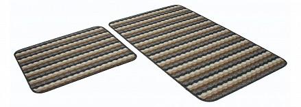 Набор из 2 ковриков для ванной PP Loop Loop