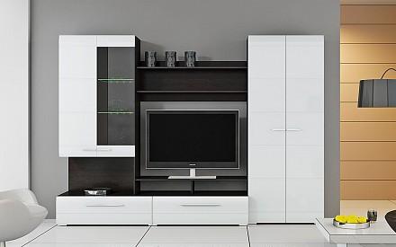 Мебельная стенка среднего размера Вега TRI_58311