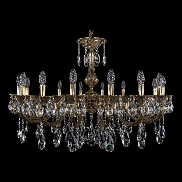 Подвесная люстра 1702/16/300/A/GB Bohemia Ivele Crystal 1702/16/335/A/GB  (BI_1702_16_335_A_GB), Чехия