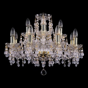 Хрустальная люстра 1410 Bohemia Ivele Crystal (Чехия)