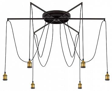 Круглый потолочный светильник диаметр 120 см Эдисон CL451261