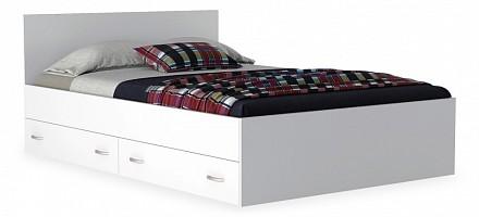 Кровать полутораспальная Виктория с матрасом 2000x1200