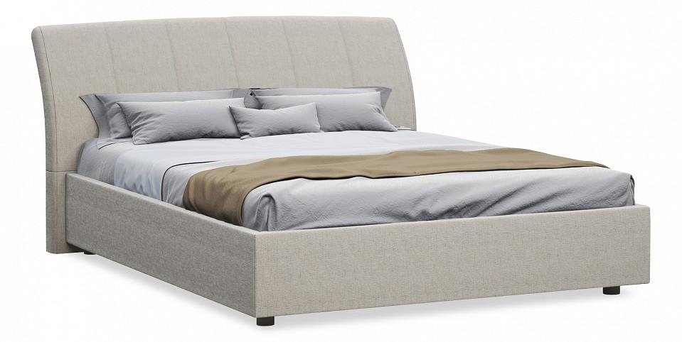 Кровать двуспальная с матрасом и подъемным механизмом Orchidea 180-200