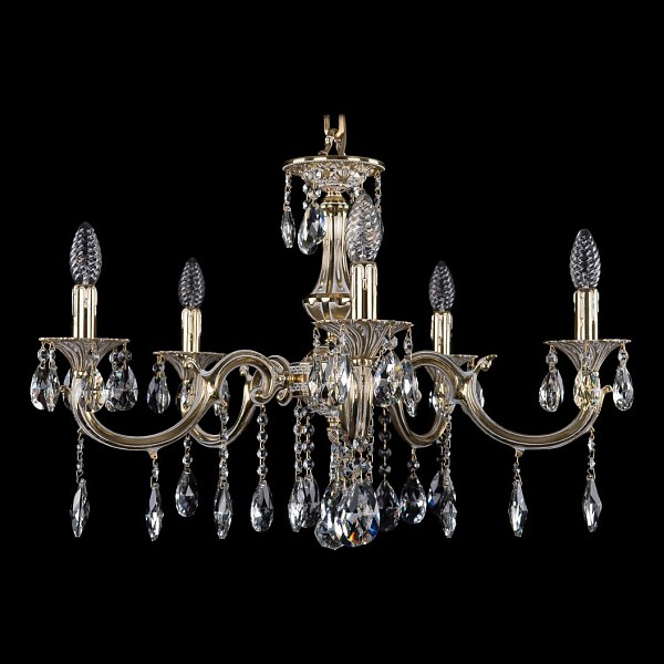 Подвесная люстра 1702/5/250/A/GW Bohemia Ivele Crystal 1702/5/A/GW  (BI_1702_5_A_GW), Чехия