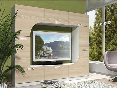 Мебельная стенка среднего размера Арно SLV_NM_014_46_2