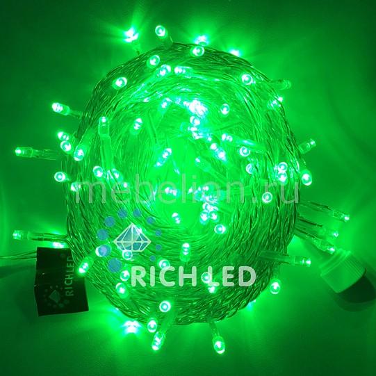 Электрогирлянда RichLED RL_RL-S10C-24V-T_G от Mebelion.ru