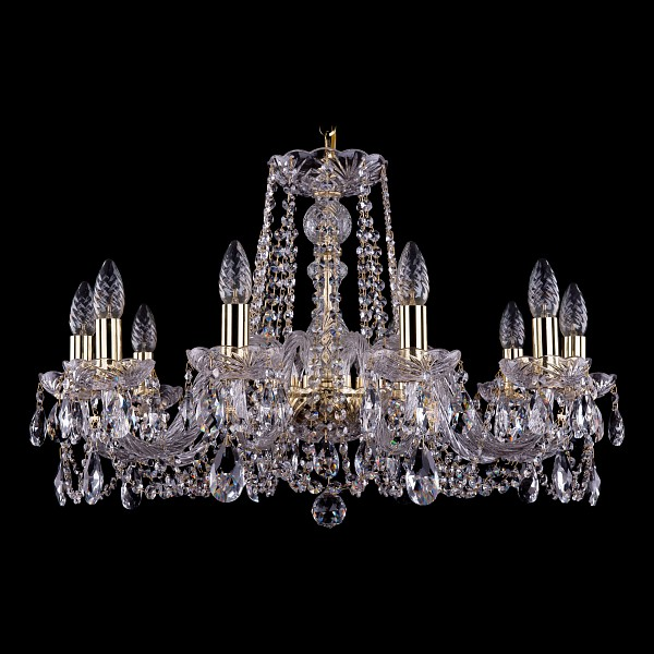 Подвесная люстра 1402/10/240/G Bohemia Ivele Crystal  (BI_1402_10_240_G), Чехия