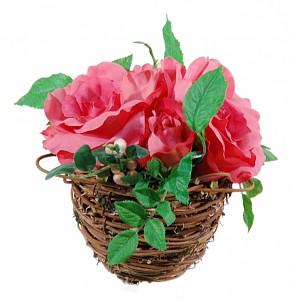 Растение в горшке (17 см) Розовые розы 56000100