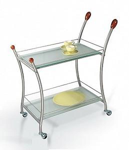 Стол сервировочный Поло металлик