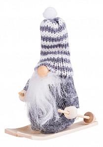 Дед Морозо (9 см) Санта На Лыжах 372-032