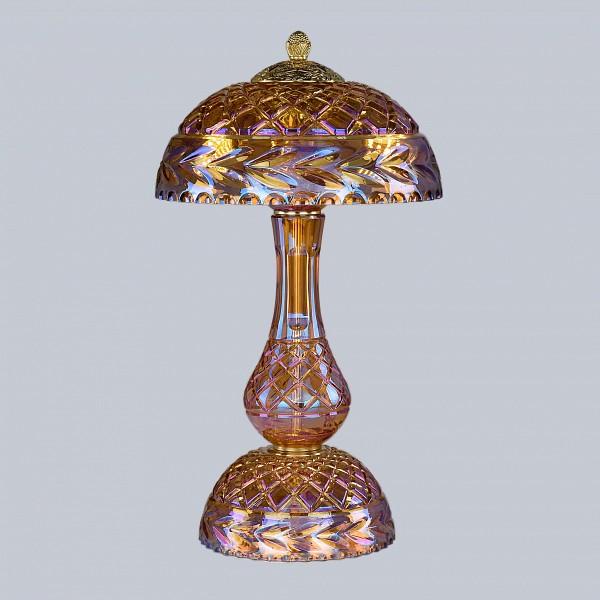 Настольная лампа декоративная Ivele Crystal 1371L/3/25 G Shampan/M-1F BI_1371L_3_25_G_Shampan_M-1F
