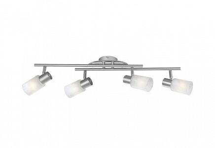 Спот поворотный Kati, 4 лампы E14 по 40 Вт., 6.3 м², цвет белый матовый