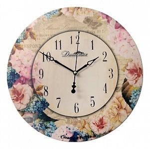 Настенные часы (33x4x33 см) Незабудки-3 02-025
