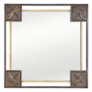 Зеркало настенное (72x72 см) Стрекозы V20043