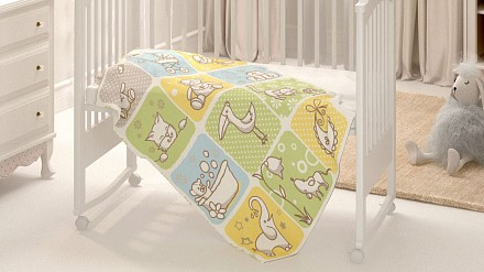 Одеяло детское Веселые картинки