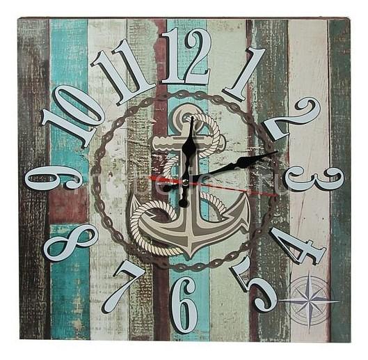Настенные часы Акита (40 см) Якорь C40-6 цена и фото