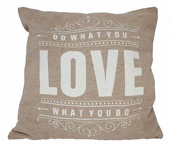 Подушка декоративная (45х45 см) Love