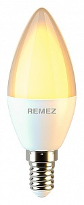 Лампа светодиодная 175-265В 7Вт 3000K RZ-113-C37-E14-7W-3K