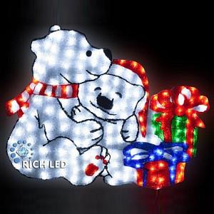 Панно световое (1.1x0.95 м) Мишки RL-A2D-01-110