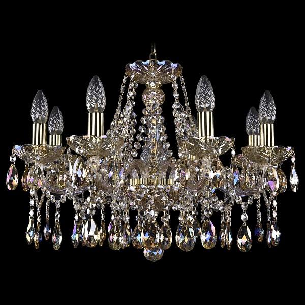 Подвесная люстра 1413/8/200/G/M701 Bohemia Ivele Crystal  (BI_1413_8_200_G_M701), Чехия