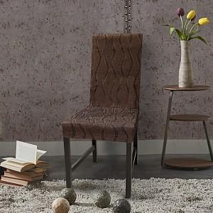Набор из 2 чехлов для стула Тоскана Марон