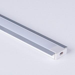 Профиль встраиваемый LL-2-ALP007 LL-2-ALP007 Встраиваемый алюминиевый профиль для LED ленты (под ленту до 11mm)