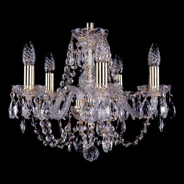 Подвесная люстра 1406/5/141/G Bohemia Ivele Crystal  (BI_1406_5_141_G), Чехия