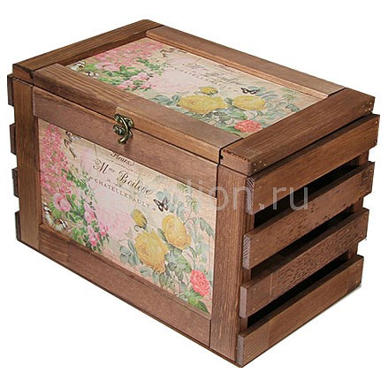 Ящик декоративный Акита Розы 81005 фаллоимитатор акита