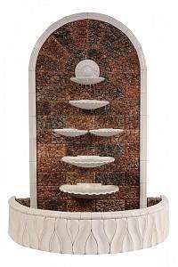 Фонтан пристенный (110х65х145 см) Царский жемчуг Ф348