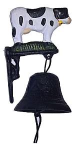 Колокол дверной (9х7.5х17 см) Корова 14237