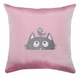 Подушка декоративная (45х45 см) Кот