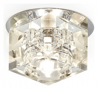 Встраиваемый точечный светильник Dising D605 AMBR_D605_CL_CH