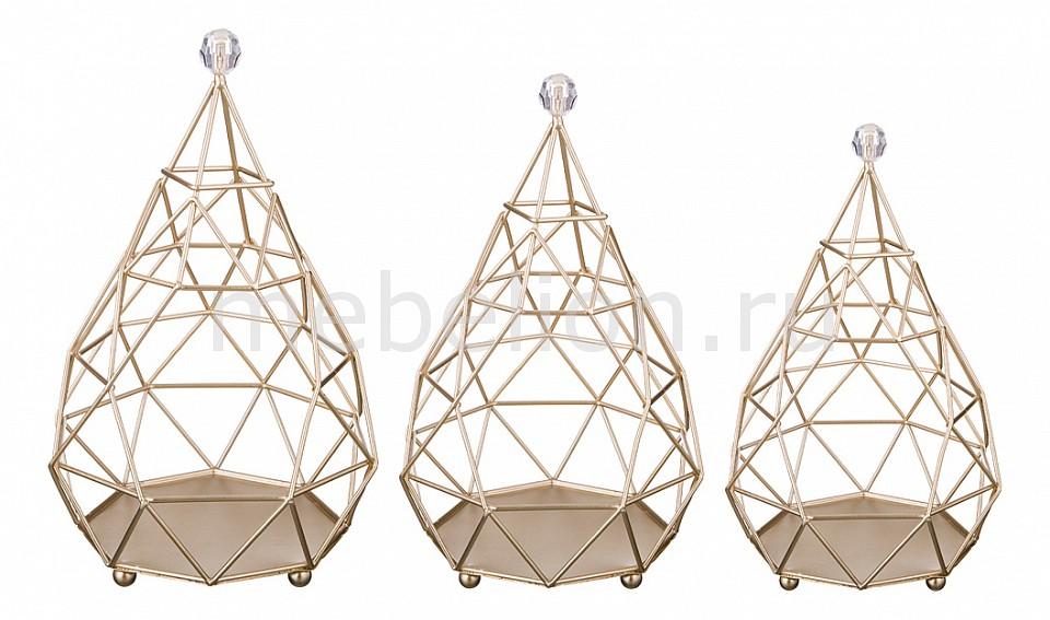 Набор из 3 подсвечников АРТИ-М Геометрия 39-1020 комплект полутораспальный арти м гиби