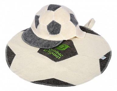 Набор для бани Футбольный мяч
